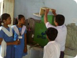 Student were trained and they maintain their own Pure drinking water device supported by Project